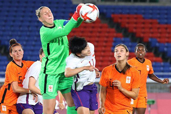 中国女足奥运三战丢17球 小组垫底出局