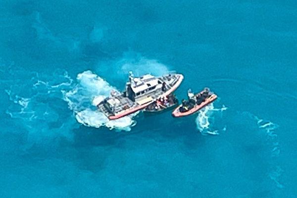 美警衛隊海上發現27名古巴人 全數遣返