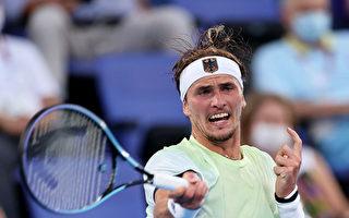 兹维列夫直落二对手 夺德国奥运网球男单首金