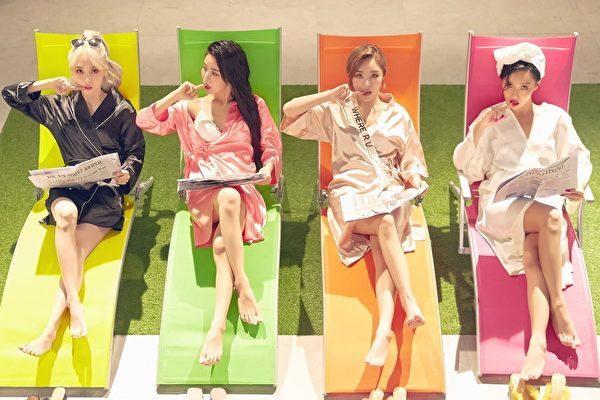 MAMAMOO日文专辑9月发行 收录日文原创曲