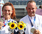 組圖:歐洲小國聖馬力諾東奧5人奪3面獎牌