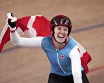 加拿大自行車女選手首次參加奧運就摘金