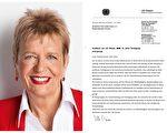 德国议员声援法轮功反迫害:祝拥有和平未来