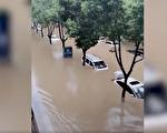 【一線採訪】陝西暴雨漢惠渠決口 數萬人受災