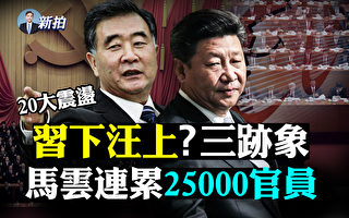【拍案惊奇】汪洋掌权三迹象 杭州2.5万官员挨整