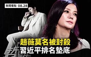 【新闻看点】赵薇莫名被封杀 习领袖排名最差