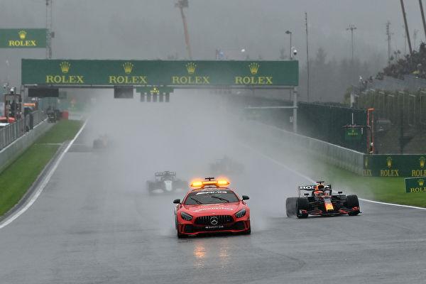 F1比利时站:仅跑两圈收场 成史上最短正赛