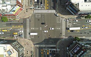 無人機空拍 AI影像辨識 解決路口交通衝突