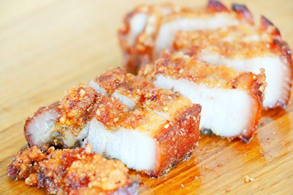 【美食天堂】炸香脆五花肉做法~外酥裡嫩不油膩!