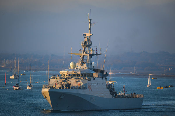 英兩艘巡邏艦前往印太 展開常態部署