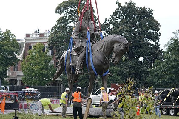 维吉尼亚州拆除李将军雕像