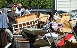 洪灾过后:拍照和偷窃不能被接受