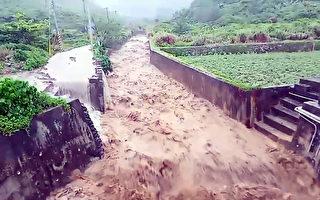 蘭嶼一度颳17級強風  17縣市豪大雨