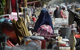 塔利班治下阿富汗经济恶化 民众卖家当买食物