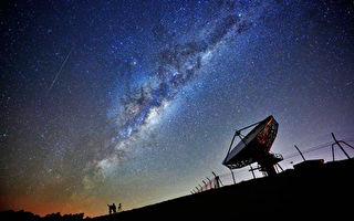 银河系中心发出神秘射电信号