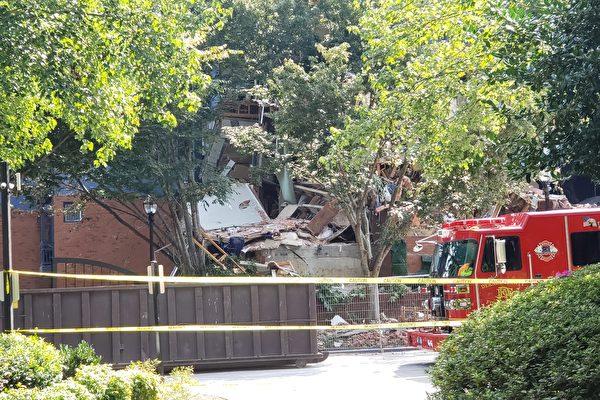 丹坞迪公寓瓦斯爆炸 四人受伤送医