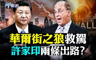 【拍案驚奇】華爾街大佬進京救火?許家印兩出路
