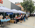 每週五戶外淘寶市場 法拉盛小商家可免費申請攤位