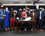 霍楚簽署《少即是多法案》 釋放191囚犯 緩解雷克島危機