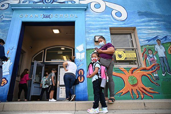 开学一个月后 加州儿童染疫和住院数呈现下降