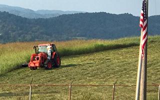 隔壁学校球赛奏国歌 忙碌农民站拖拉机上致敬