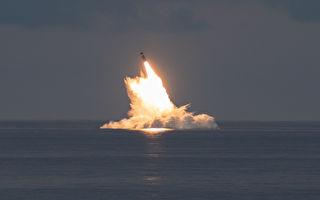 美军成功试射两枚三叉戟II型潜射弹道导弹