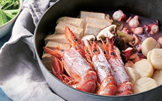 【縮時料理】海鮮蒸鍋 簡單食材盡享海味