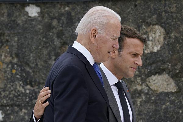 白宫:拜登很快与马克龙通话 讨论潜舰风波