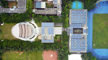 中央大學設置太陽光電  打造友善綠色校園