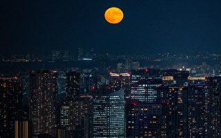 組圖:中秋時分 世界各地滿月景觀