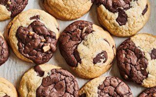 有嚼勁的布魯奇餅乾 將兩種甜點合二為一