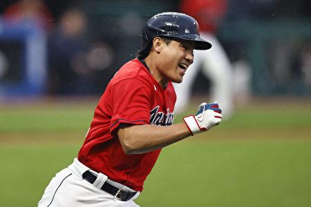 MLB張育成清壘安打 印地安人勝利英雄