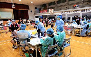 中市高中開打BNT    2人不適送醫、6人暈針