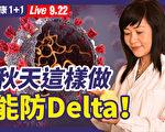 【重播】中醫師推演未來疫情 秋天如何防Delta?