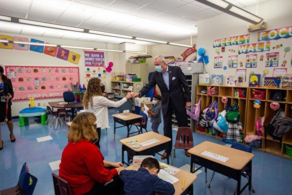 普及学前教育 新泽西州长墨菲概述10年愿景