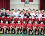 蔡英文允诺在基中成立青少年羽球训练中心