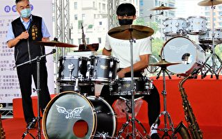 楊勇緯打鼓熱身 台中樂器節邀好手競技