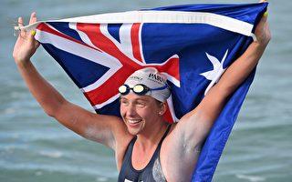 44次横渡英吉利海峡 澳洲女泳将创世界纪录