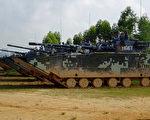 共軍05兩棲戰車針對台海? 台防長:密切注意揣摩對策