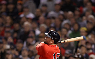 MLB舒瓦伯满贯弹 红袜季后赛炮轰太空人