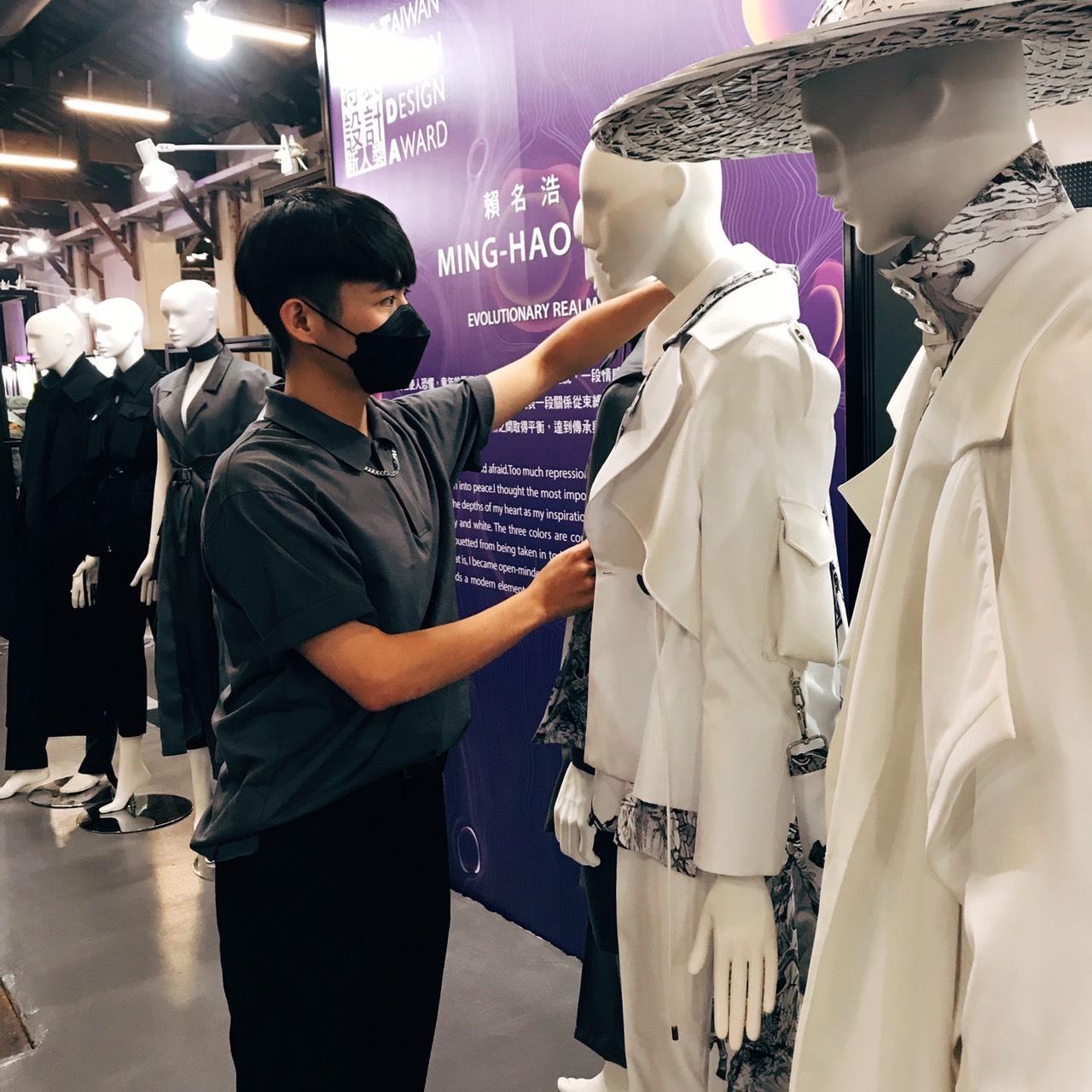 亚洲服装设计竞赛 明道赖名浩夺最佳商业潜力奖