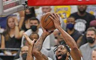 NBA詹姆斯缺阵双星助拳 湖人延长赛击败马刺