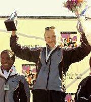 拉德克利夫勇破世界纪录后当选英国杰出女性