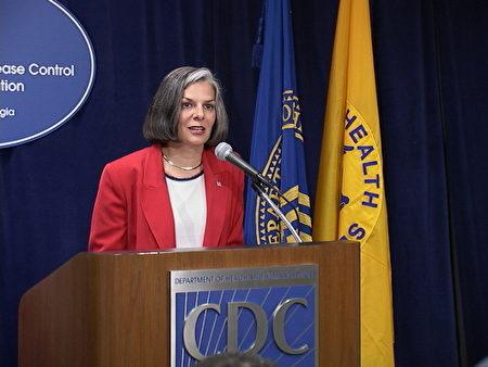 前美國CDC主任茱莉·葛伯丁(Julie Gerberding)檔案照。(大紀元)