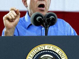 布什美國獨立日作反恐講話