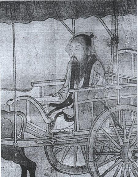 《李泌出山图》明人绘,首都博物馆藏。(公有领域)