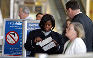 擴大安檢 全美機場嚴查大型電子產品