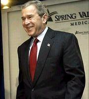 布希总统誓言美军将继续留驻 照顾伊拉克安全