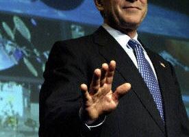 布什今宣示重返月球计划