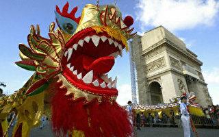 巴黎春節遊行展中國風情 市長坦言人權